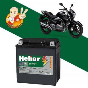 Bateria de moto - probater