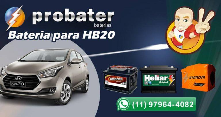 Bateria para HB20