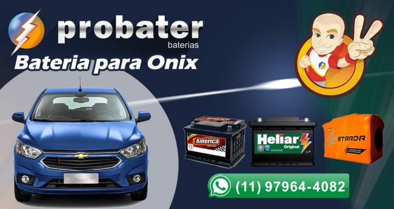 Bateria do onix